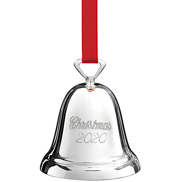 Reed & Barton 2020 Silverplate Christmas Annual Bell