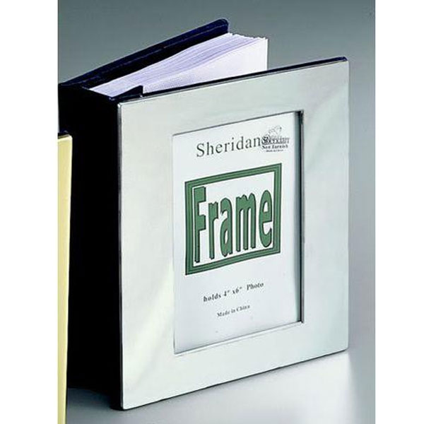 Framed Nickel Photo Album