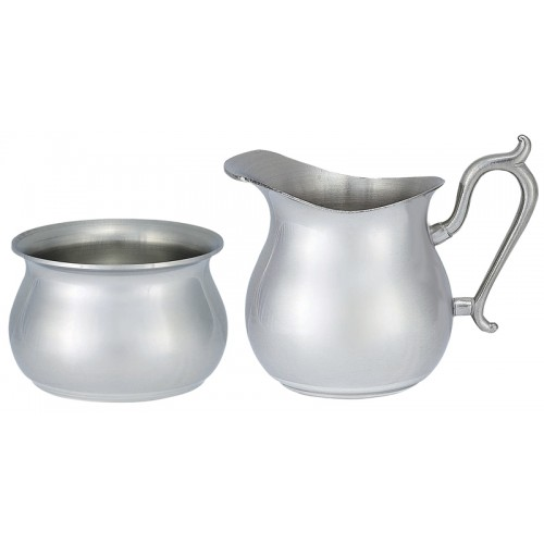 Pear Shaped Cream & Sugar Set