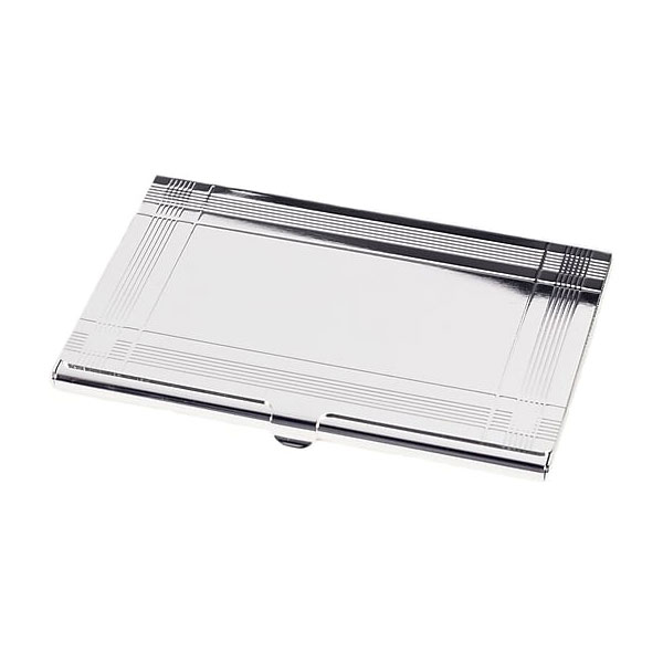 Silverplate Business Card Case