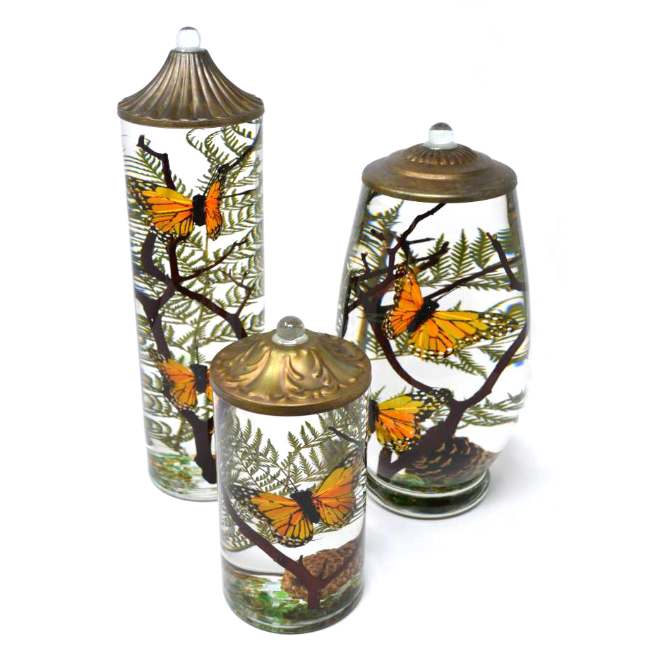 Butterfly Lifetime Candle