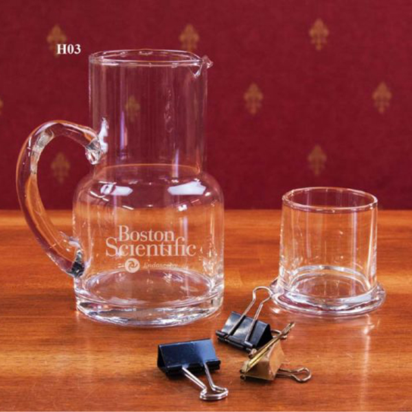 Executive Water Carafe with Glass
