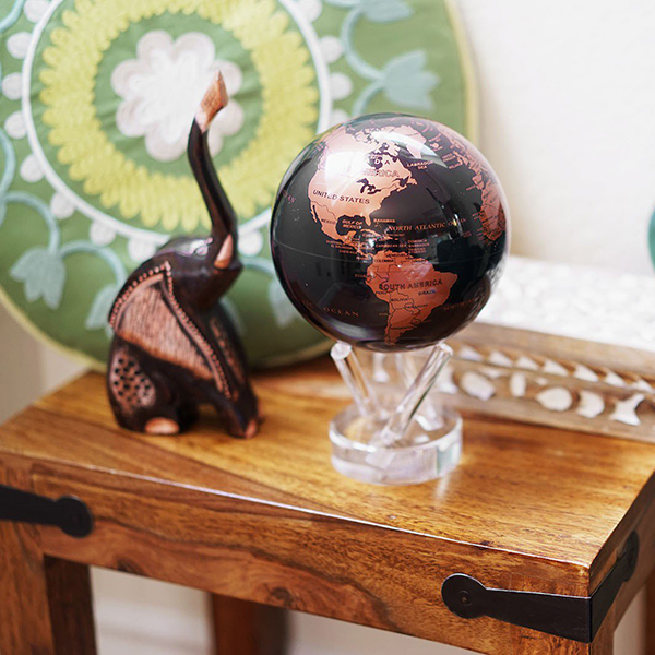 Mova Globe Black and Copper