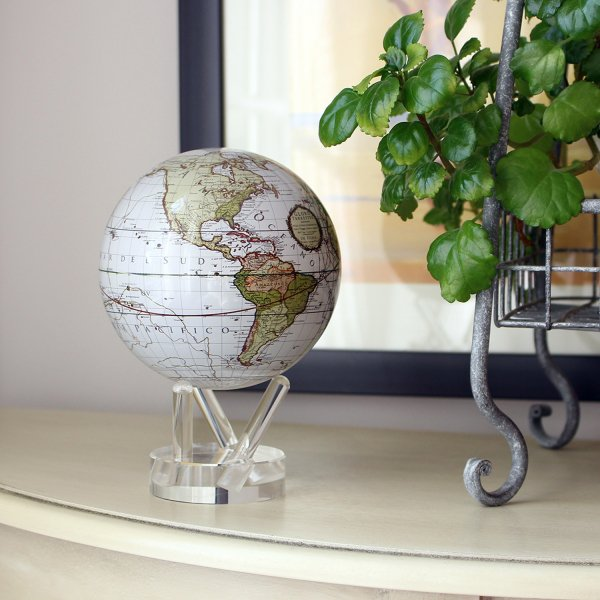 Mova Globe Antique Terrestrial