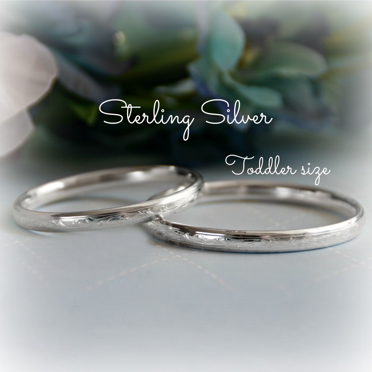 Toddler Sterling Bangle Bracelet