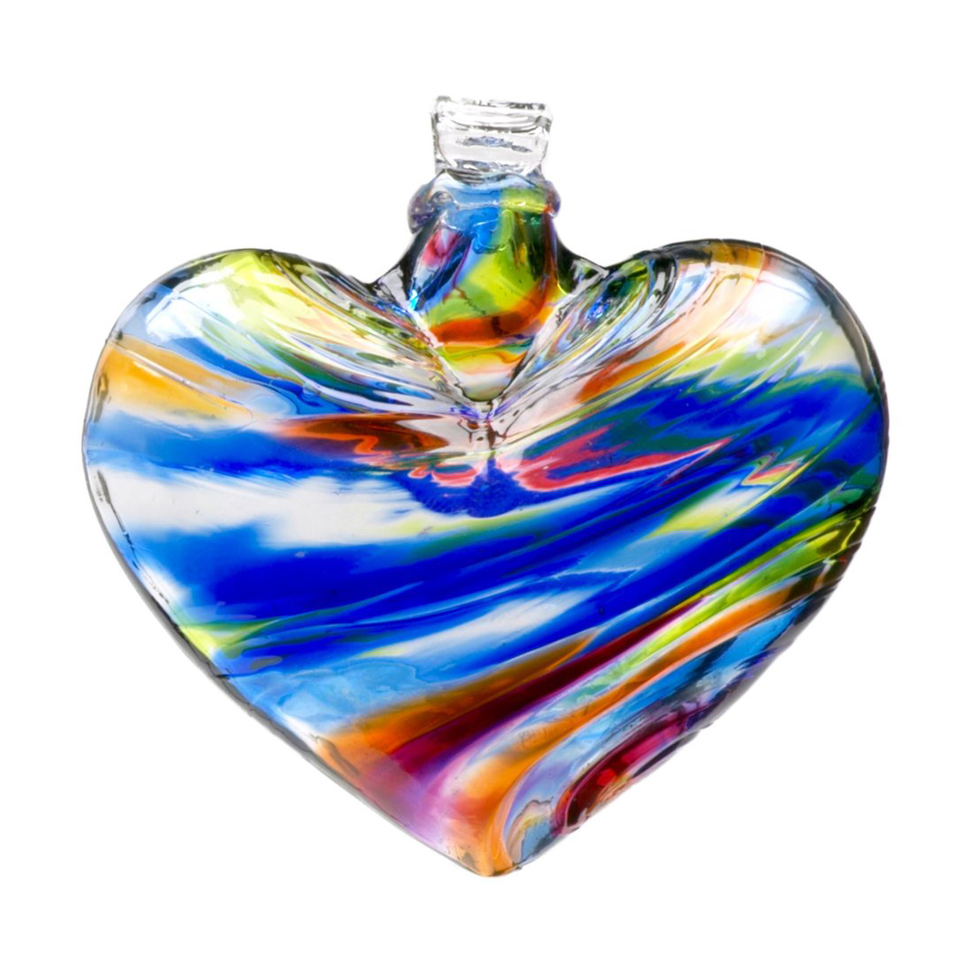 Heart of Glass Ornaments