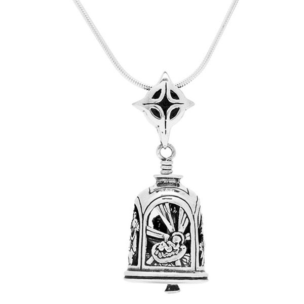 Nativity Bell Pendant