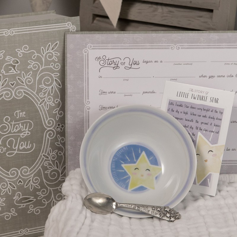 Little Twinkle Star Bowl & Spoon Set